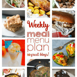 Weekly Meal Plan August 29 – September 4