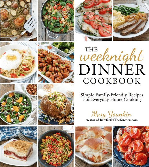 The Weeknight Dinner Cookbook: Simple Family Friendly Recipes For Everyday Home Cooking