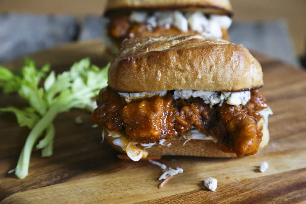 Buffalo Chicken Sandwiches {Foodie with Family}