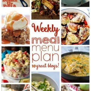 Weekly Meal Plan for September 26 – October 2