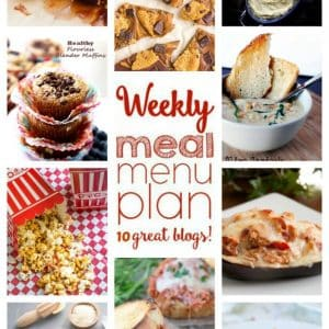 Weekly Meal Plan for September 12 – September 18