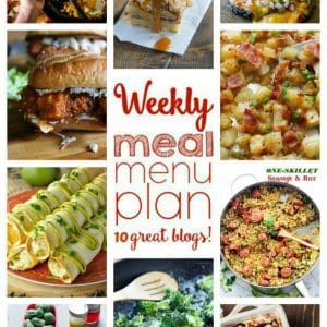 Weekly Meal Plan for September 19 – September 25