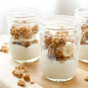 Chewy Peanut Granola