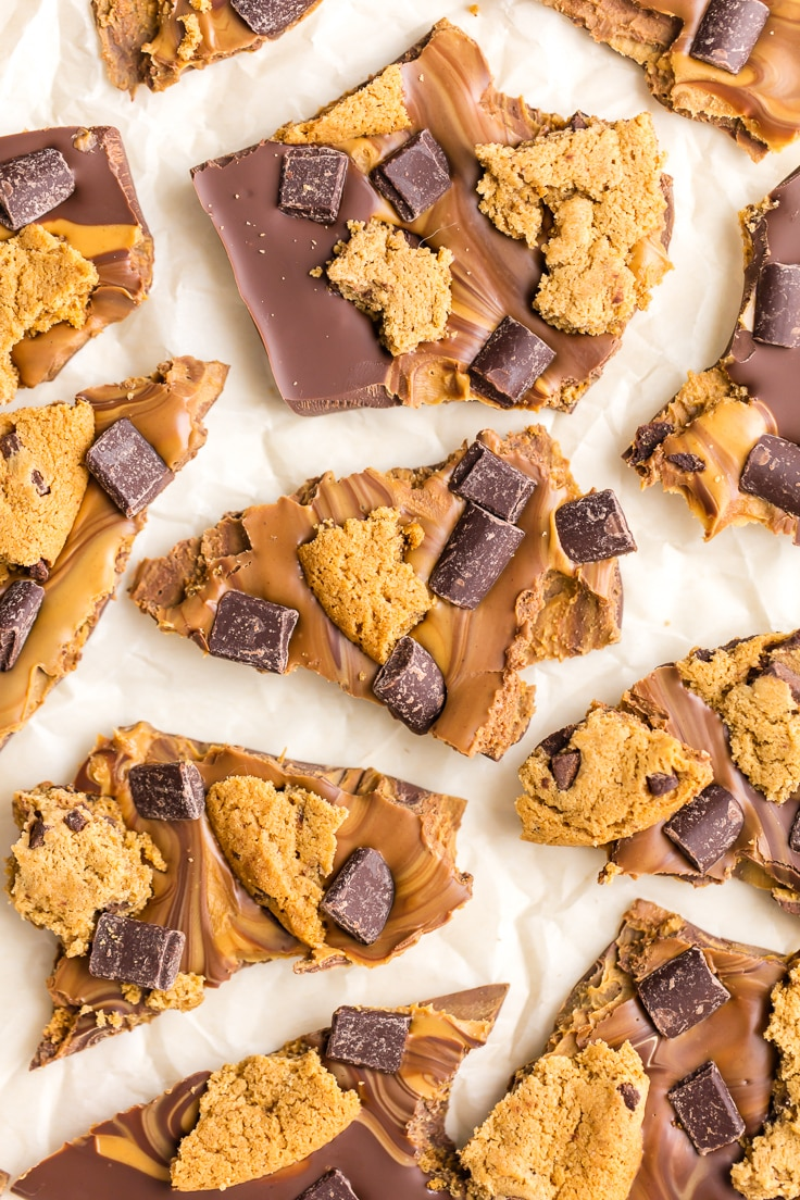 Chocolate Chip Cookie Bark {The Cookie Rookie}