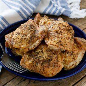 Crispy Italian Oven Chicken