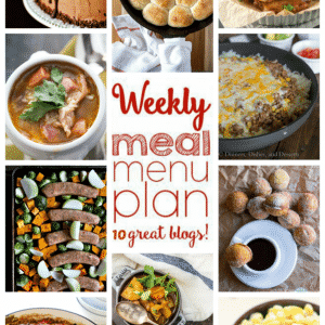 Weekly Meal Plan for October 10 – October 16