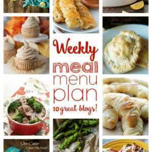 Weekly Meal Plan for October 3 – October 9