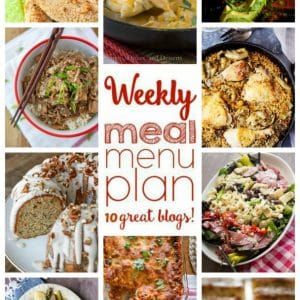 Weekly Meal Plan for October 17 – 23