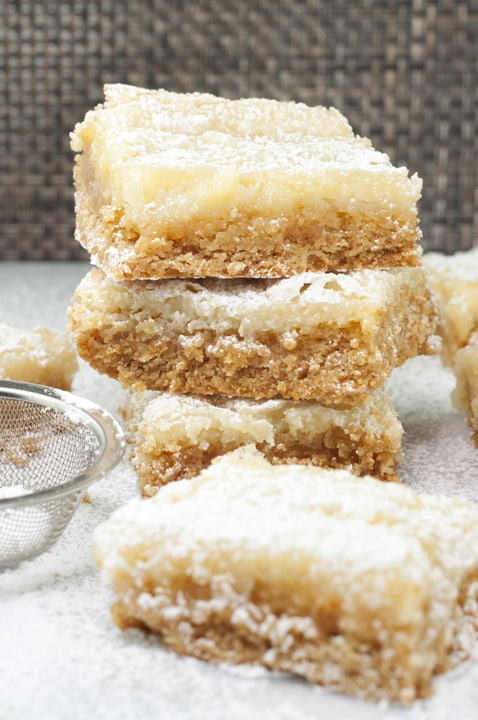 Ooey Gooey Butter Cake Bars {Wishes & Dishes}