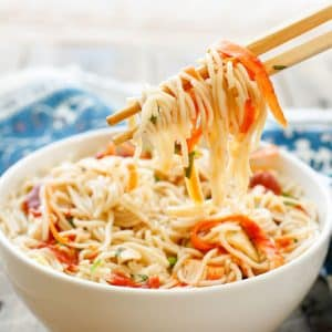 Sweet and Sour Noodle Bowls