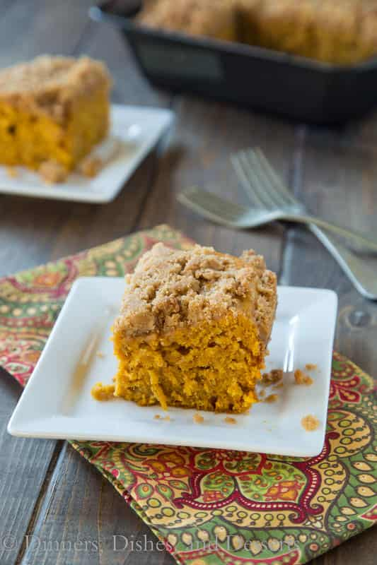 Apple Pumpkin Coffee Cake - a great fall coffee cake
