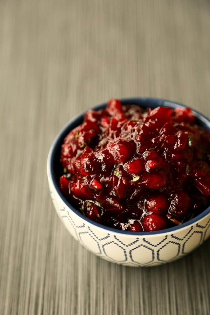 Spicy and Sweet Cranberry Sauce {Foodie with Family}
