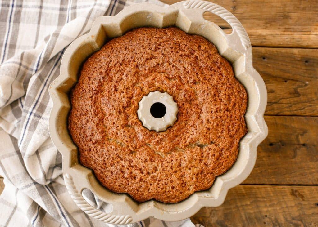 Wonder Cake from Christy Jordan's new cookbook Sweetness - get a sneak peek at the recipe at barefeetinthekitchen.com