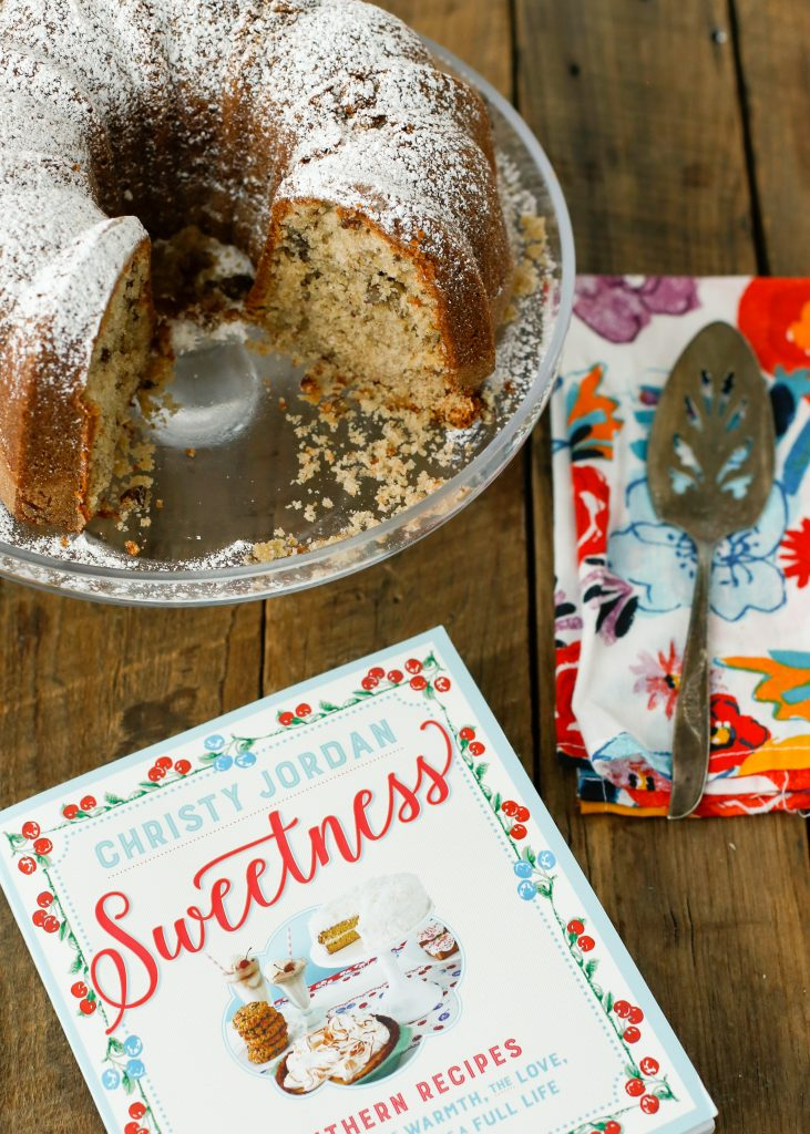 Wonder Cake from Christy Jordan's new cookbook Sweetness - get a sneak peek at the recipe at barefeetinthekitchen.com