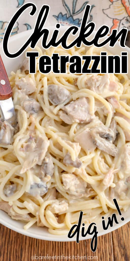 Chicken Tetrazzini - homemade comfort food at its best!