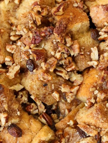 Pecan Praline French Toast Bake