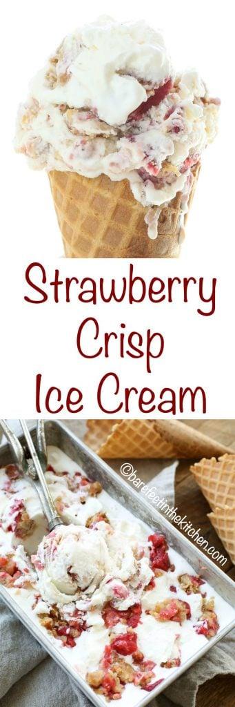 Strawberry and Ice cream