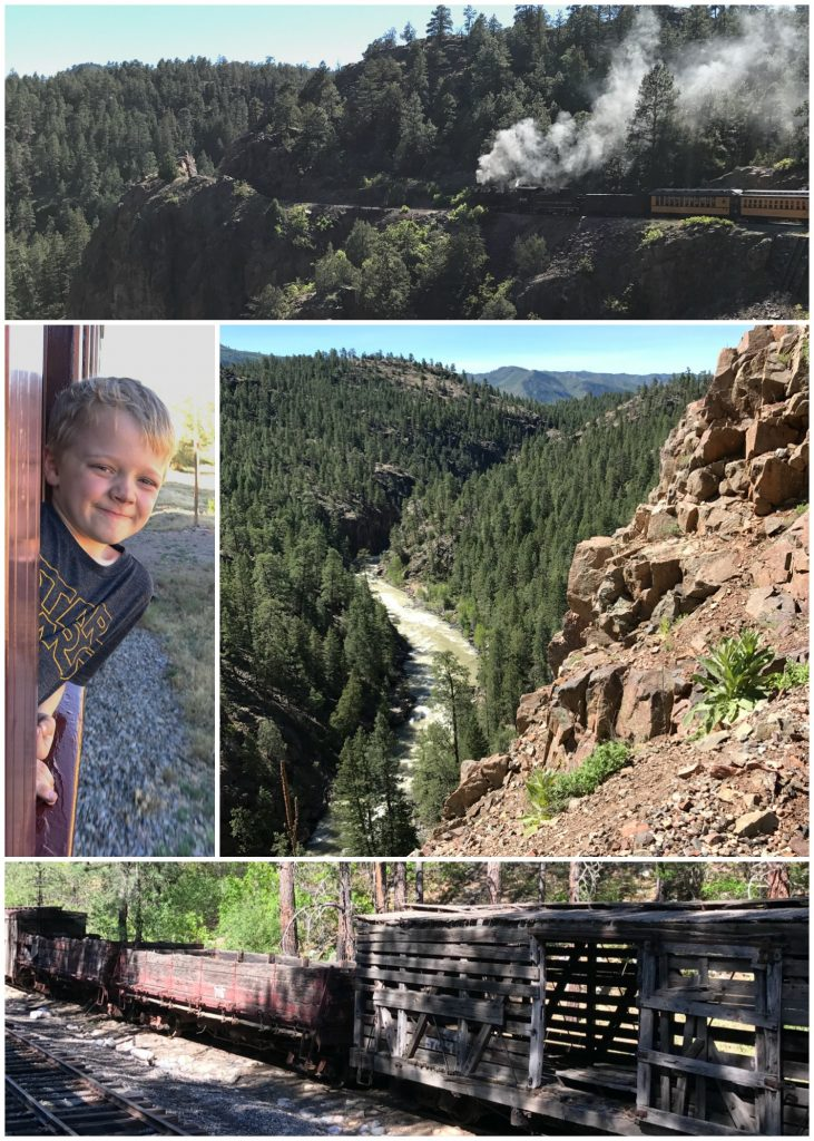 Spending a day riding the train on the Durango Silverton Narrow Gauge Railroad