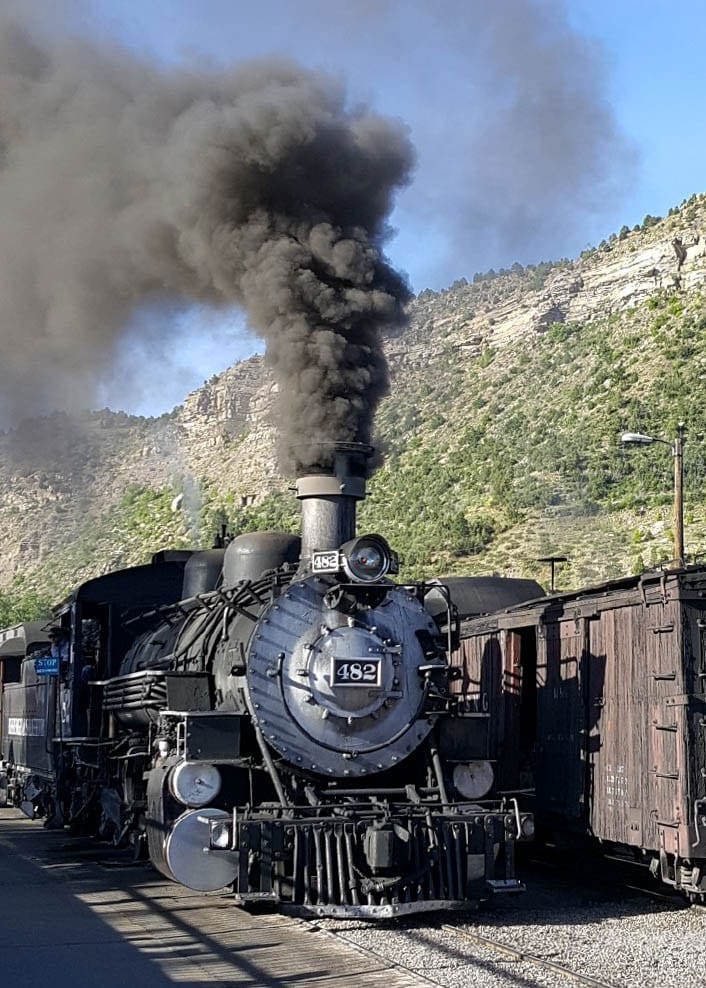 188os working steam engine for the Durango Silverton Narrow Gauge Railroad
