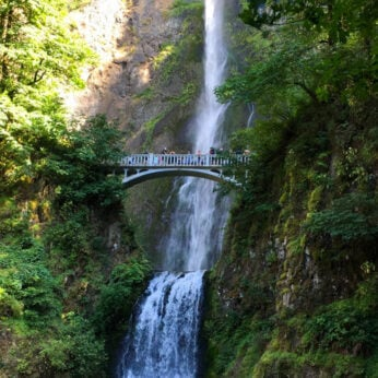 Mulholland Falls in Portland, OR should be on every waterfall lover's bucket list!