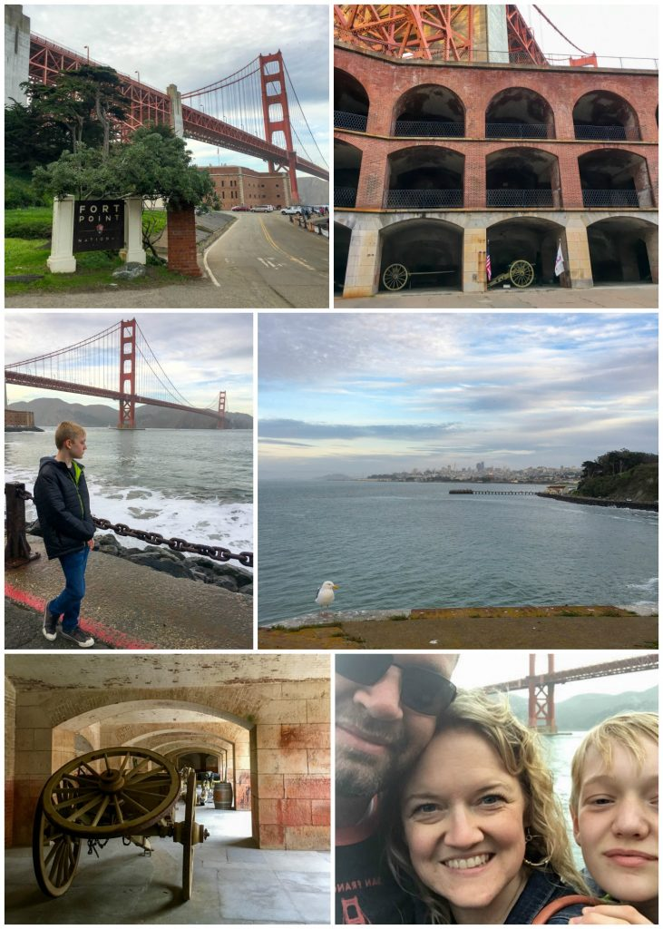 San Francisco - Fort Point collage