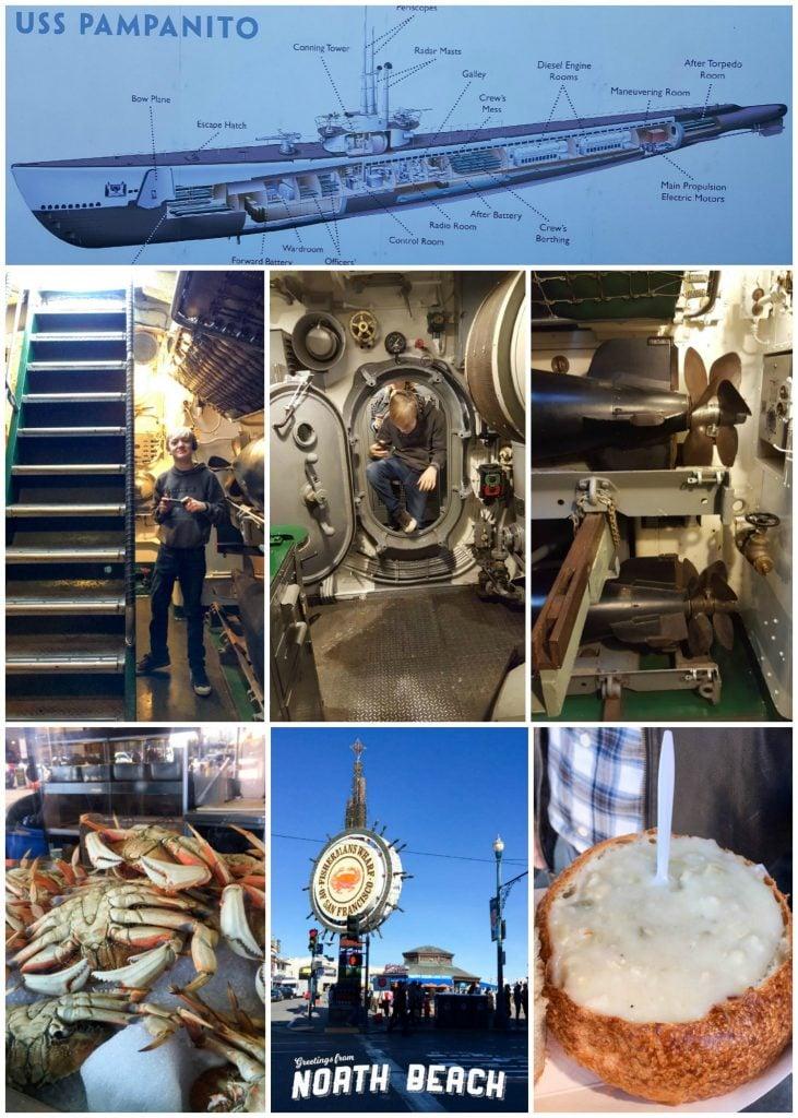 San Francisco - Wharf Collage