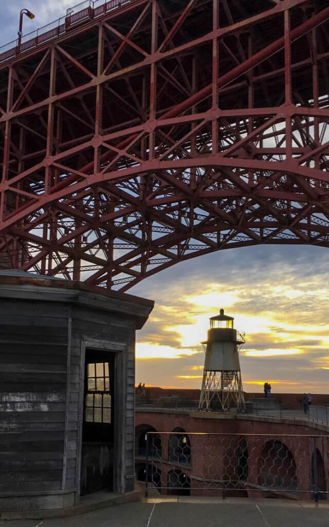San Francisco - fort point lighthouse