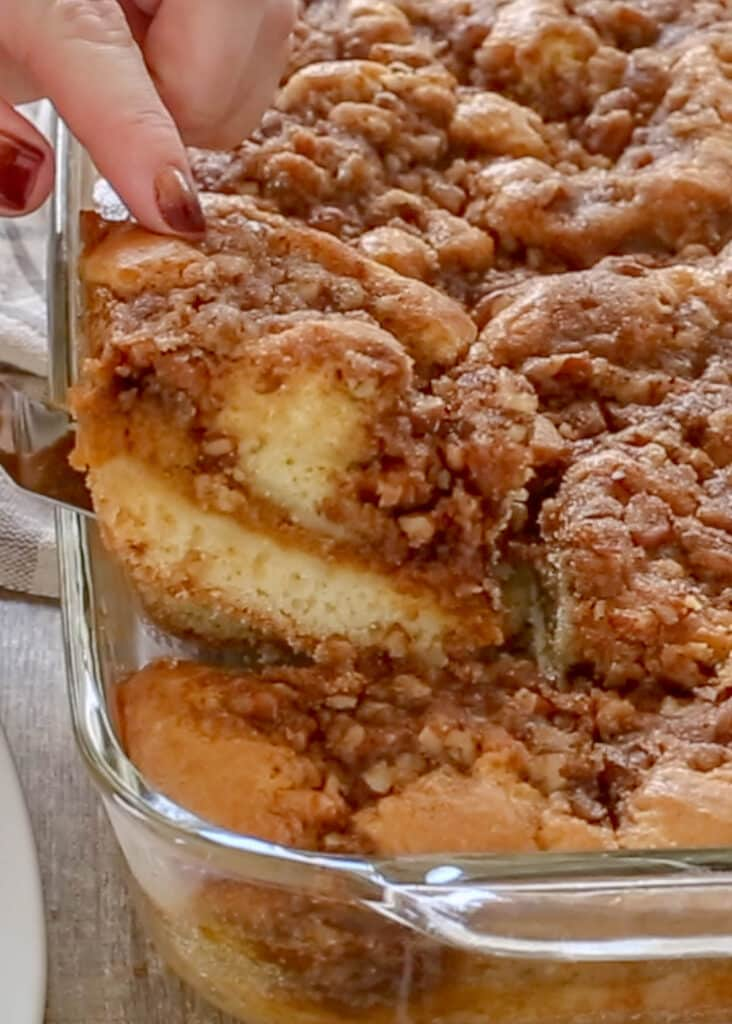 Perfect Pumpkin Coffee Cake