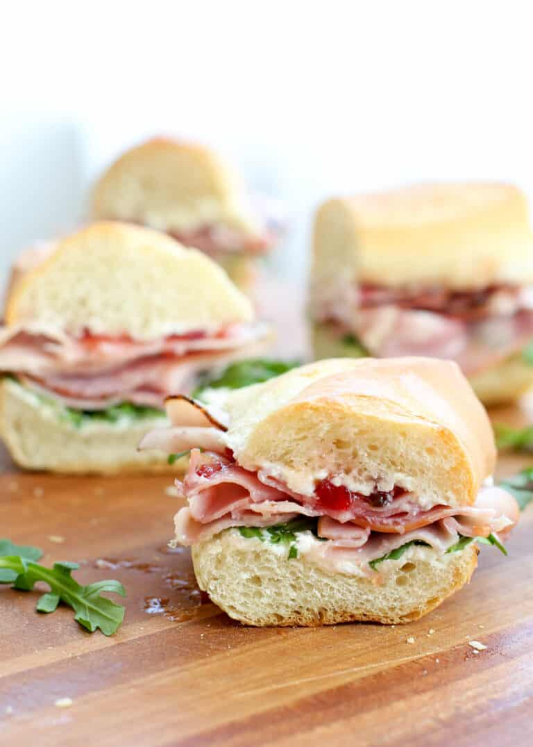 You're going to love these sweet and slightly spicy ham sandwiches!