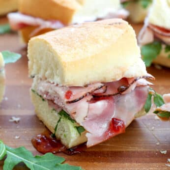 The BEST Ham Sandwich you've ever tasted!