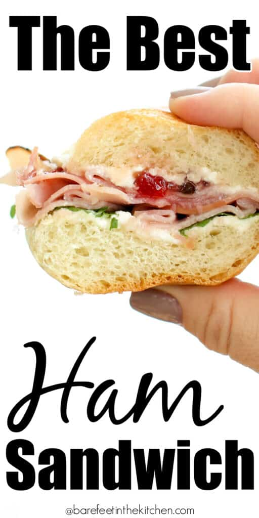Perfect for a crowd or a casual lunch, you're going to love this Ham Sandwich!