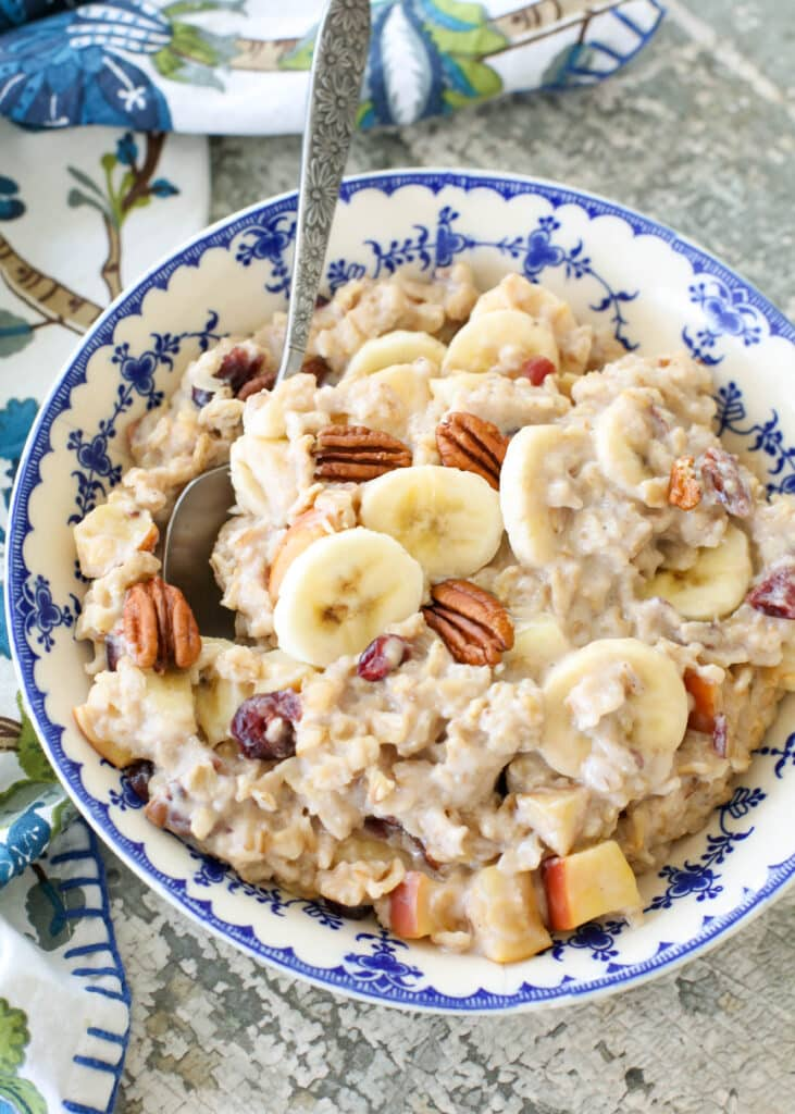 Stovetop Holiday Oatmeal
