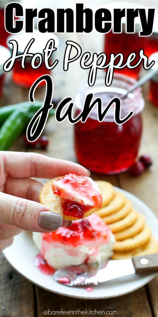 You're going to LOVE this Cranberry Hot Pepper Jam!