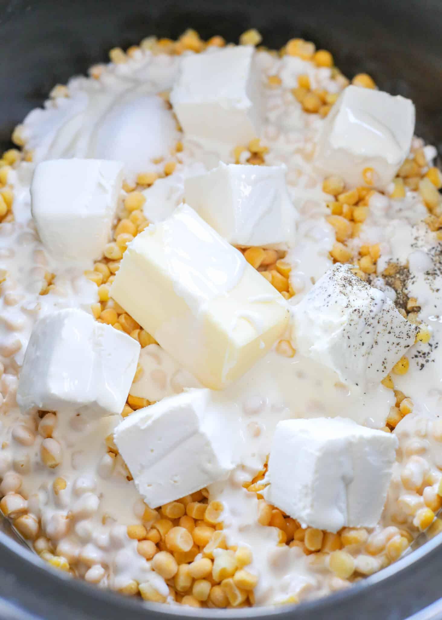 EASY Crock-Pot Creamed Corn