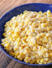 Slow Cooker Creamed Corn is a hit side dish for any occasion!
