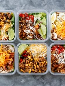 How To Eat A Salad Everyday & LIKE IT! (aka the Fritos everyday diet!) get the recipes at barefeetinthekitchen.com