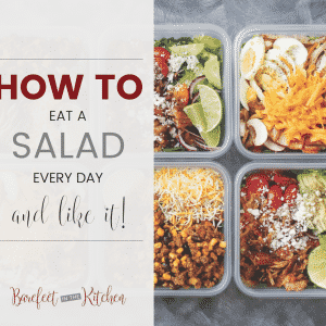 An eBook for How To Eat A Salad Every Day