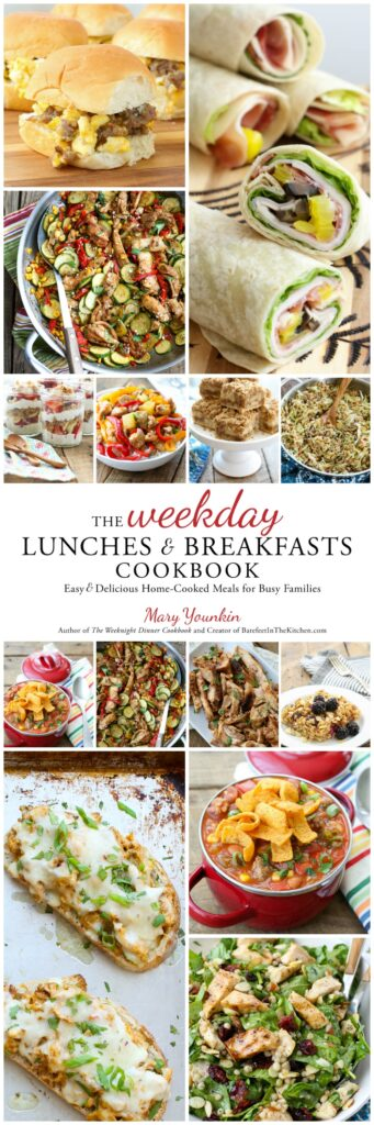 Order your copy of The Weekday Lunches & Breakfasts Cookbook NOW! (In stores on March 27 or delivered to your door on release day!)