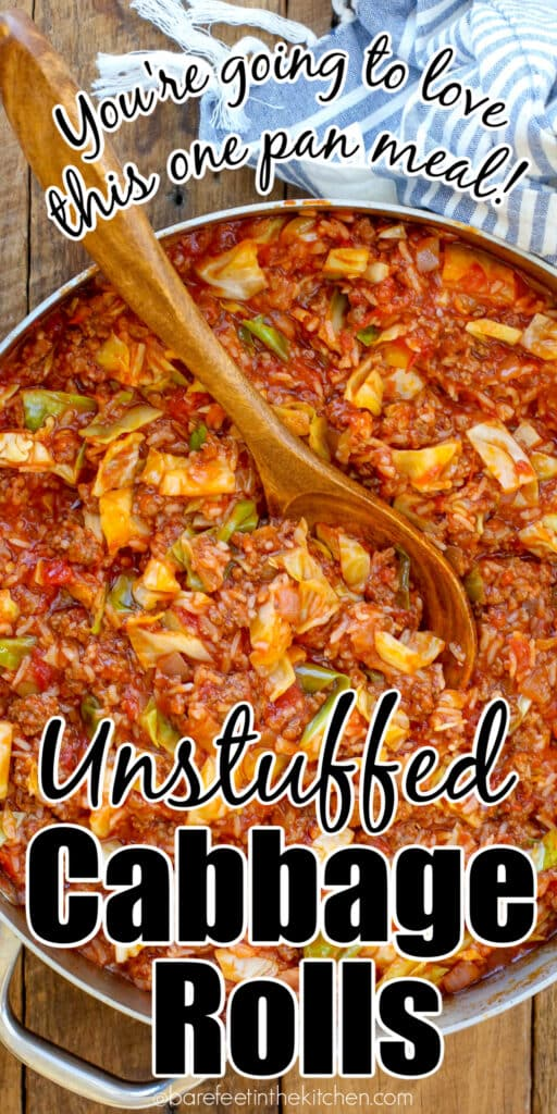 Unstuffed Cabbage Rolls