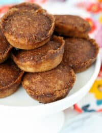 Cinnamon Toast Cake Bites - get the recipe at barefeetinthekitchen.com