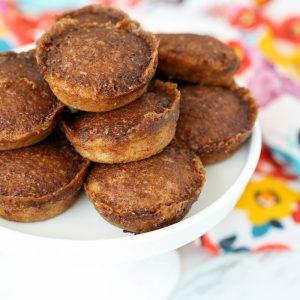 Cinnamon Toast Cake Bites - get the recipe at barefeetinthekitchen.com