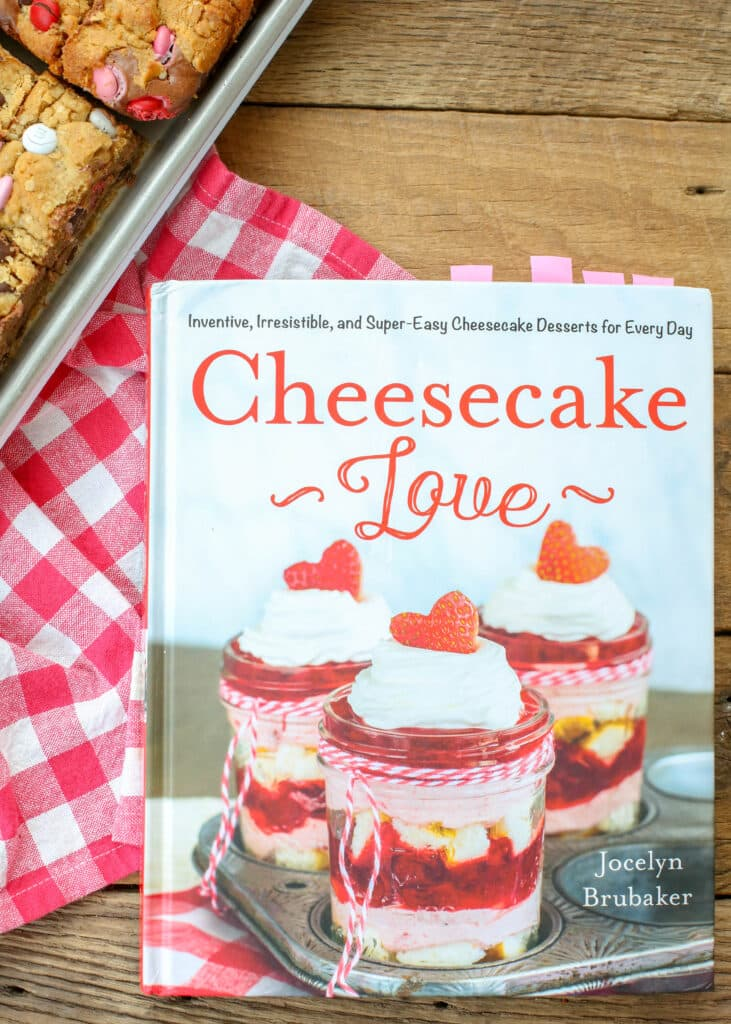 Cheesecake Cookie Bars recipe from Cheesecake Love!
