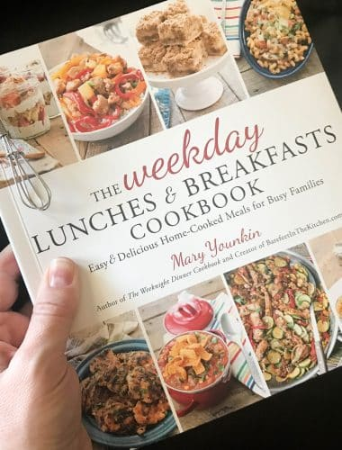 The Weekday Lunches & Breakfasts Cookbook release day!