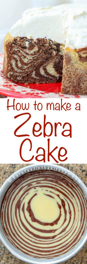 How To Make A Zebra Cake Barefeet In The Kitchen Zebra cake is one of our most requested recipes. how to make a zebra cake barefeet in