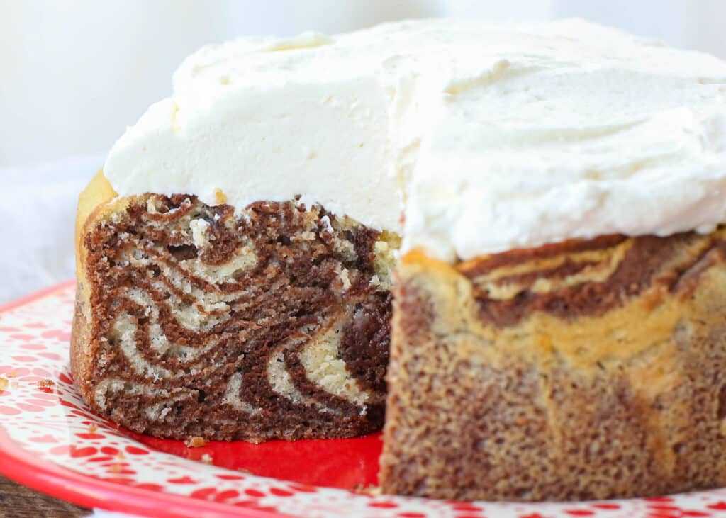 Zebra Cakes are so much fun! get the recipe at barefeetinthekitchen.com