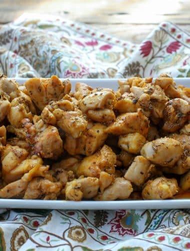 Indian Chicken Bites