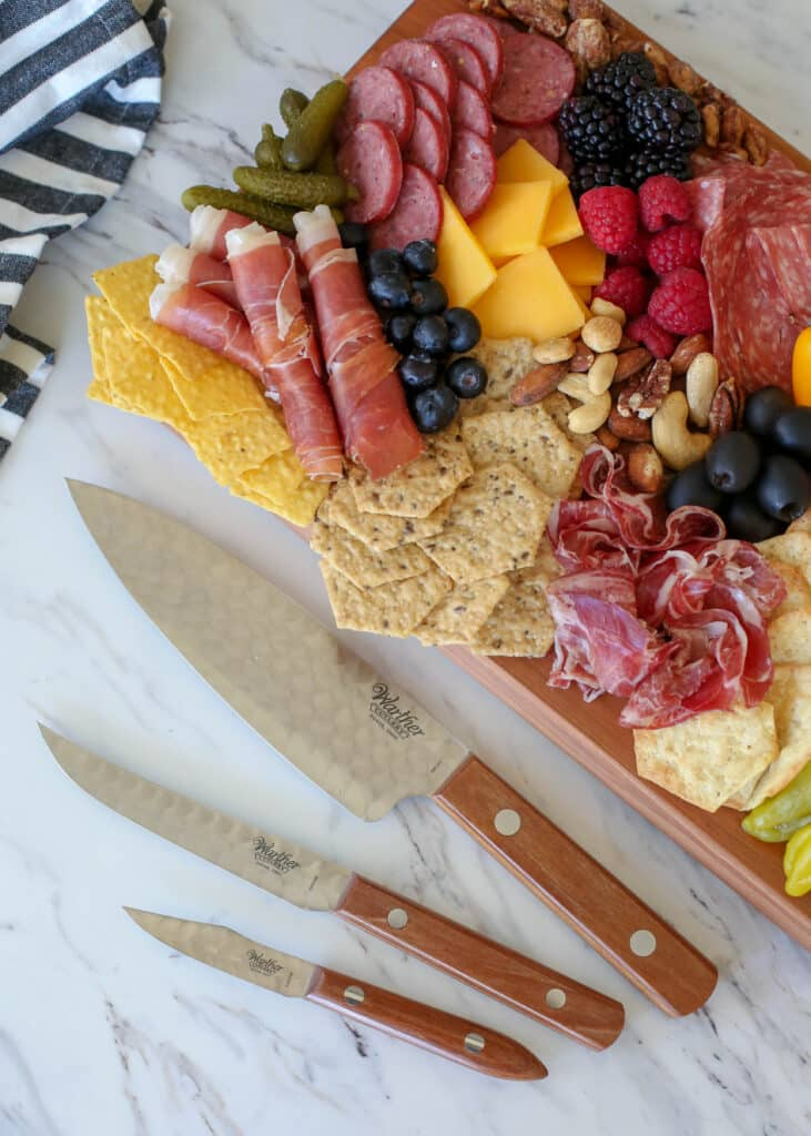 Meat Lover's Cheese Board and Warther Cutlery Giveaway!