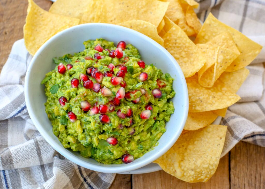 Have you tried Pomegranate Guacamole? It's fantastic!