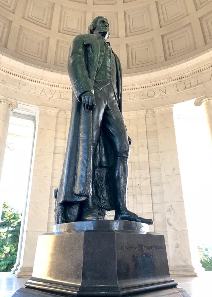 Barefeet In The Kitchen Summer Road Trip - Jefferson memorial