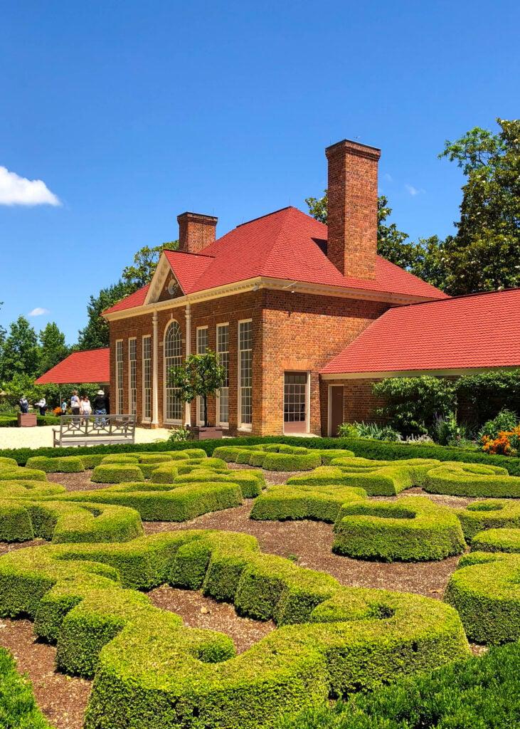 Barefeet In The Kitchen Summer Road Trip - Upper Garden at Mount Vernon